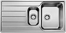 Blanco Lemis 6-S IF Inset 1.5 Bowl Kitchen Sink,