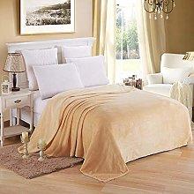 Blanket Home Textile Soft Solid Blanket Fleece