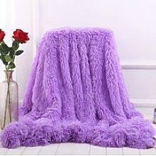 Blanket Large Soft Warm Fur Shaggy Fluffy Throw