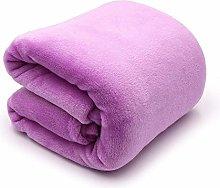 Blanket Light Thin Mechanical Wash Flannel Blanket