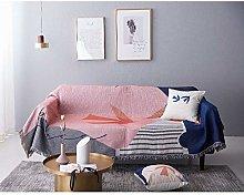 Blanket Nordic Geometry Sofa Throw Blanket Simple