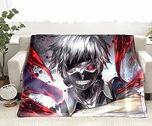 Blankets Anime Tokyo Ghoul Flannel Blanket Comfy