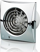 Blauberg UK 100 Quiet Chrome 100 mm Extractor Fan