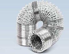 Blauberg UK Aluminium Flexible Fan Ducting for