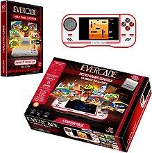 Blaze Evercade Retro Handheld Console Starter Pack