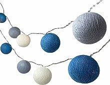 BLAZE ON Ambient Ball Fairy Lights (Mykonos) -