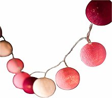 BLAZE ON Ambient Ball Fairy Lights (Pink Tones) -