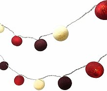 BLAZE ON Ambient Ball Fairy Lights (Red Tones) -