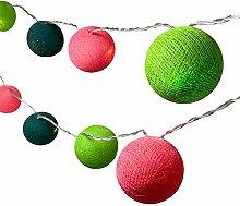 BLAZE ON Ambient Ball Fairy Lights (Watermelon) -