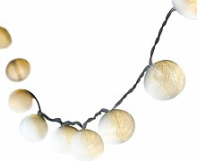 BLAZE ON Ambient Ball Fairy Lights (White) -