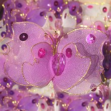 BLAZE ON Magical Haute Couture Designer Butterfly