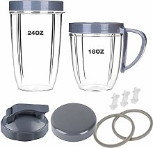 Blender Replacement Parts, 18oz/24oz Cups with Lip