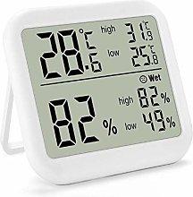 blessvt Digital Electronic Thermometer Hygrometer,