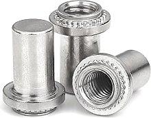 Blind Hole Rivet nut, 304 Stainless Steel Enclosed