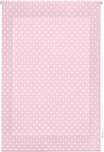 Blindecor Dotty Roller blind, Fabric, Pink, 110x