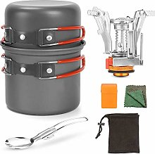 Bling Camping Cookware Mess Kit Backpacking Gear &