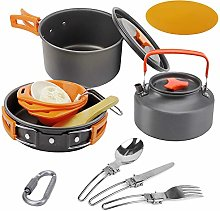 Bling Camping Cookware Set Mess Kit Backpacking