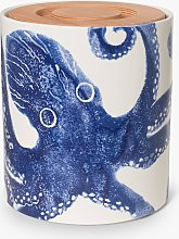 BlissHome Creatures Octopus Ceramic Bread Bin with