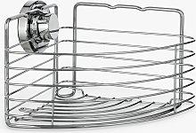 BlissHome Lock N Roll Corner Suction Shower Basket