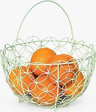 BlissHome Nadiya Hussain Wire Fruit/Bread Basket,