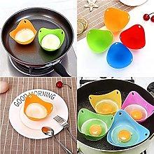 BLNAERYY Silicone Poached Egg Cups, Non Stick Egg