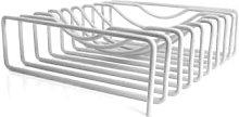 Block Design - Wire Fruit Basket White - white -