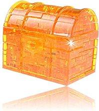 Blocks Model Building Toy, 3D Crystal Glitter