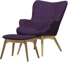 Blomster Armchair and Footstool Selsey Living