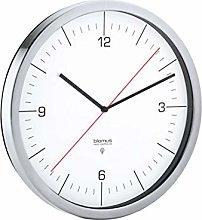 blomus Radio Clock, White, 24 x 24 x 4,5 cm