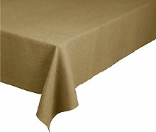 blomus Tablecloth, Dull Gold, B 140 cm, T 220 cm