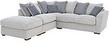 Bloom Fabric Left-Hand Corner Group Sofa Bed