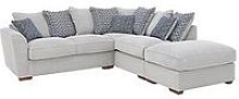 Bloom Fabric Right-Hand Corner Group Sofa Bed