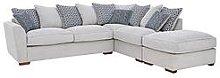 Bloom Fabric Right-Hand Corner Group Sofa