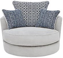 Bloom Fabric Swivel Chair