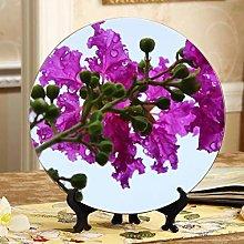 Blooming Crape Myrtle Antique Decor Plates Cheap