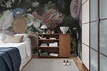 Blooming Flowers Mural Wallpaper (SqM)