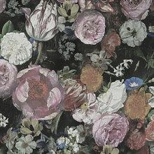 Blooming Roses - Wallpaper Sample
