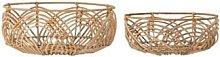 Bloomingville - Bread Basket, Nature, Rattan -
