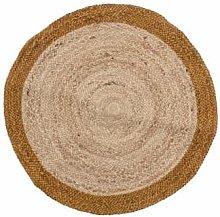 Bloomingville - Circular Jute Rug - 90cm x 90cm  