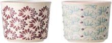Bloomingville - Couple Maya Egg Cup 2erSet - 4,5x5