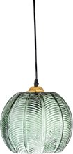 Bloomingville - Green Glass Pendant Lamp