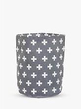 Bloomingville MINI Cotton Storage Basket, Grey