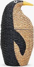 Bloomingville MINI Penguin Storage Basket, Multi