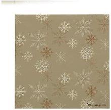 Bloomingville - Pack of 20 Snowflakes Paper Napkin