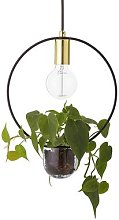 Bloomingville - Pendant Lamp with Plant Holder -