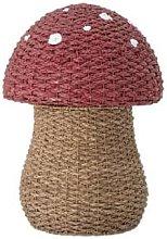 Bloomingville - Seagrass Toadstool Storage Basket