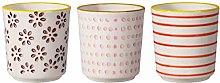 Bloomingville Susie Egg Cup Red/Plum/Mauve 3 Ass.