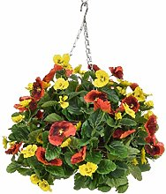 Blossom and Blooms Artificial Hanging Basket,