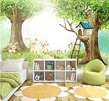 Blovsmile 3D Cartoon Photo Wallpaper for Kids