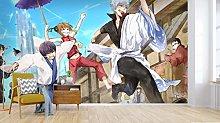 Blovsmile 3D Gintama Cartoon Anime Wallpaper Mural